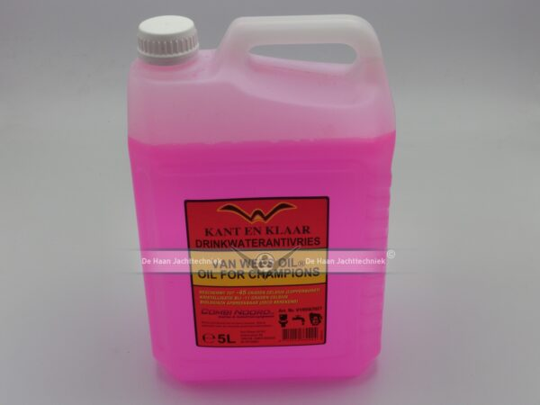 Van Wees Oil drinkwater ANTIVRIES